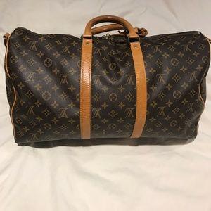 33f74d5b18dc Louis Vuitton Bags - Louis Vuitton Bandouliere Keepall 35 Duffle Bag